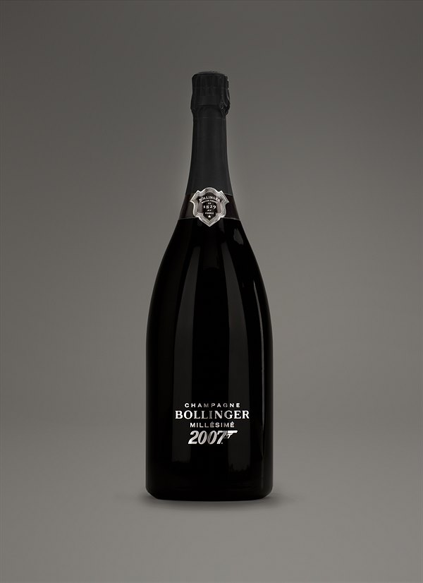 James Bond Special Edition,  CHAMPAGNE BOLLINGER, James Bond Edition, 007